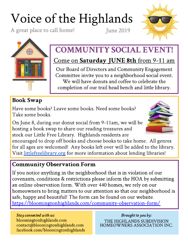 2019 June newsletter FINAL, page 1